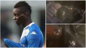 Balotelli explota tras sufrir un robo en su coche