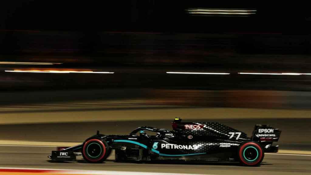 Bottas en el Gran Premio de Sakhir