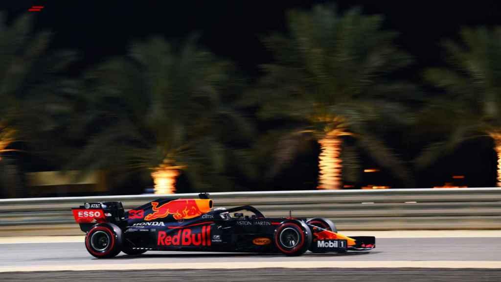 Verstappen en el Gran Premio de Sakhir