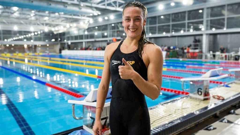 Mireia Belmonte, tras clasificarse para los Juegos Olímpicos de Tokio