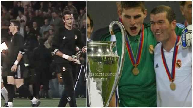 Iker Casillas y la rivalidad con César Sánchez