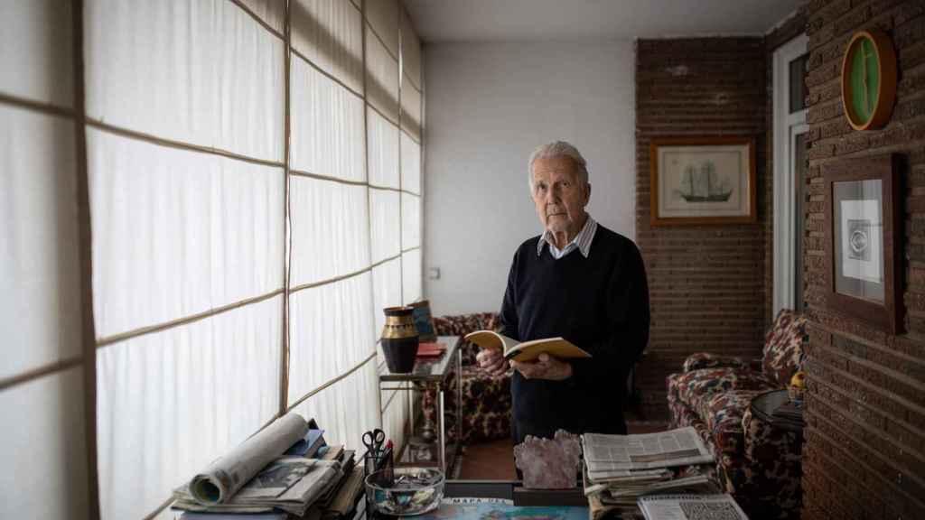 Fernando Arias-Salgado, en su domicilio de Madrid.
