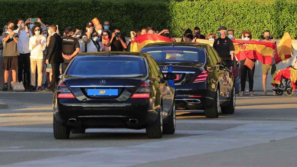 Estos son los Mercedes Clase S utilizados por la familia real.