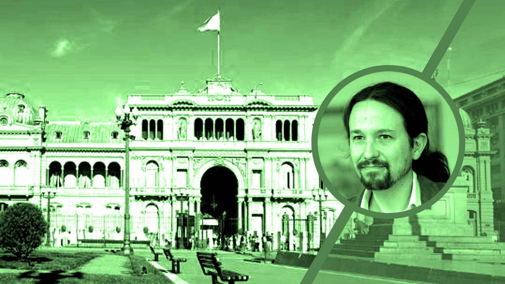 La Casa Rosada y el vicepresidente, Pablo Iglesias.