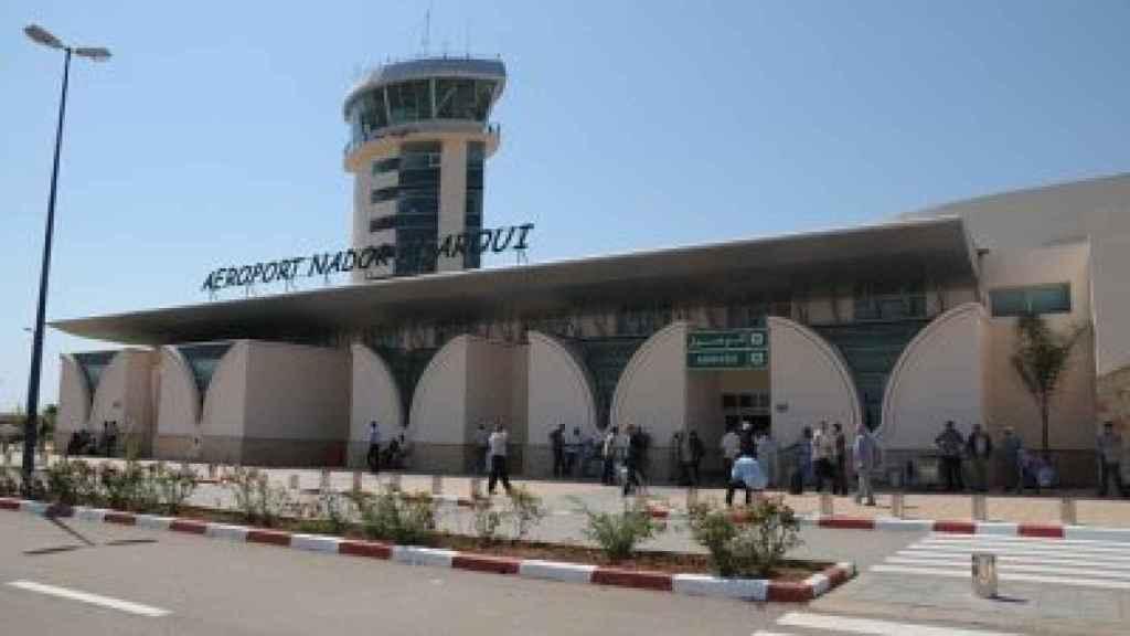 El actual Aeropuerto Internacional de Monte Arruit en Nador (Marruecos).