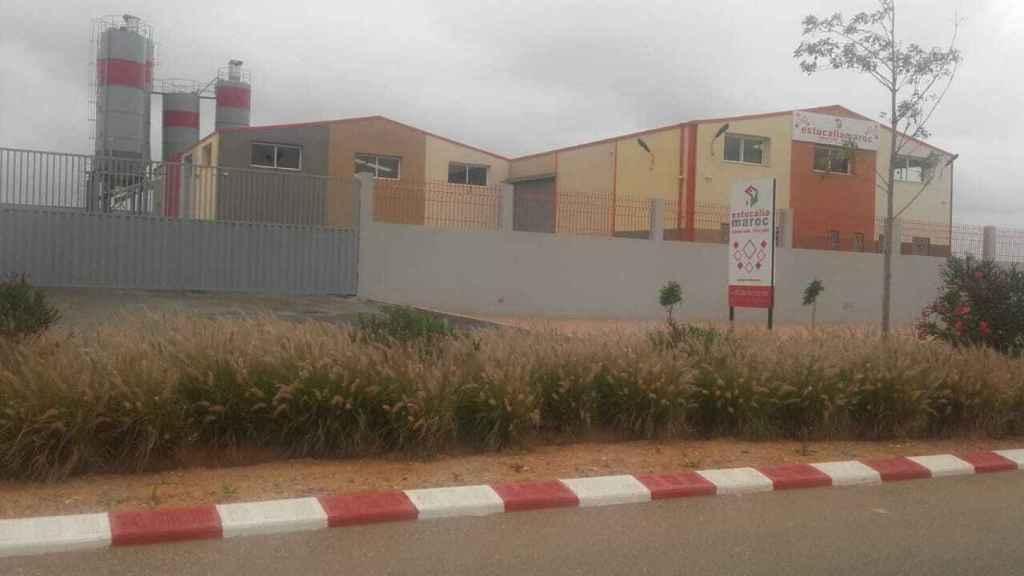 Zona industrial de la ciudad marroquí de Mador