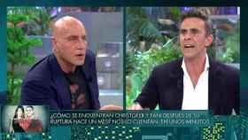 Kiko Matamoros y Alonso Caparrós en 'Sábado Deluxe'