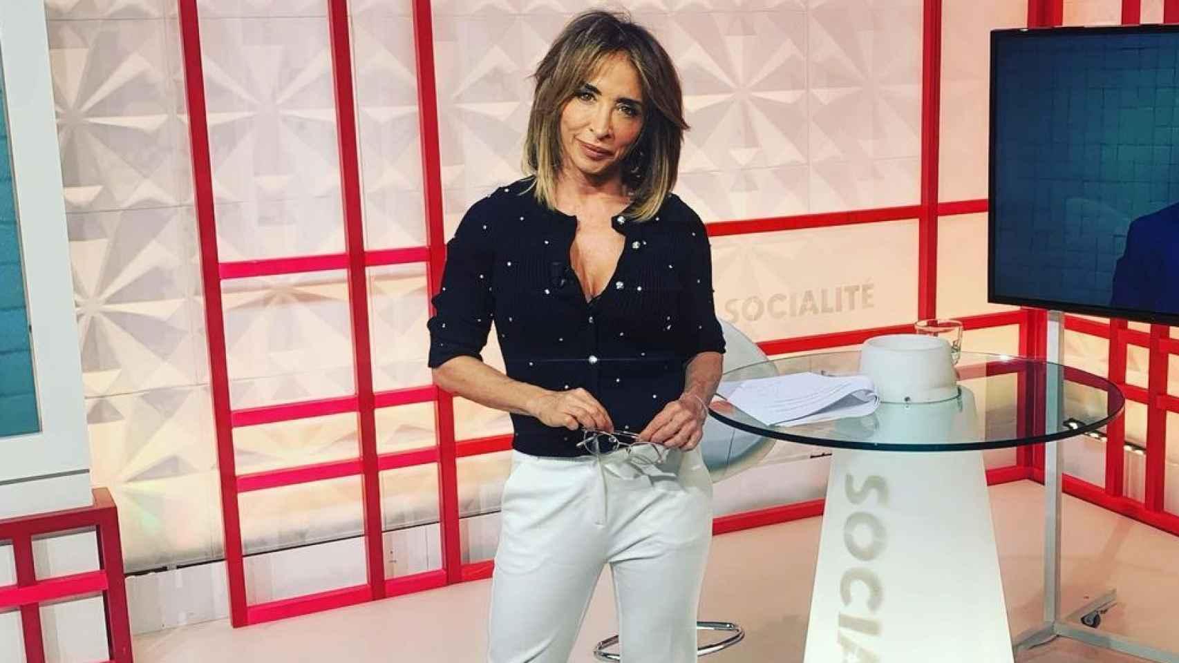 María Patiño, en 'Socialité'.
