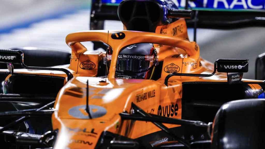Carlos Sainz en el Gran Premio de Sakhir