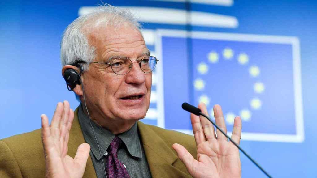 El jefe de la diplomacia de la UE, Josep Borrell