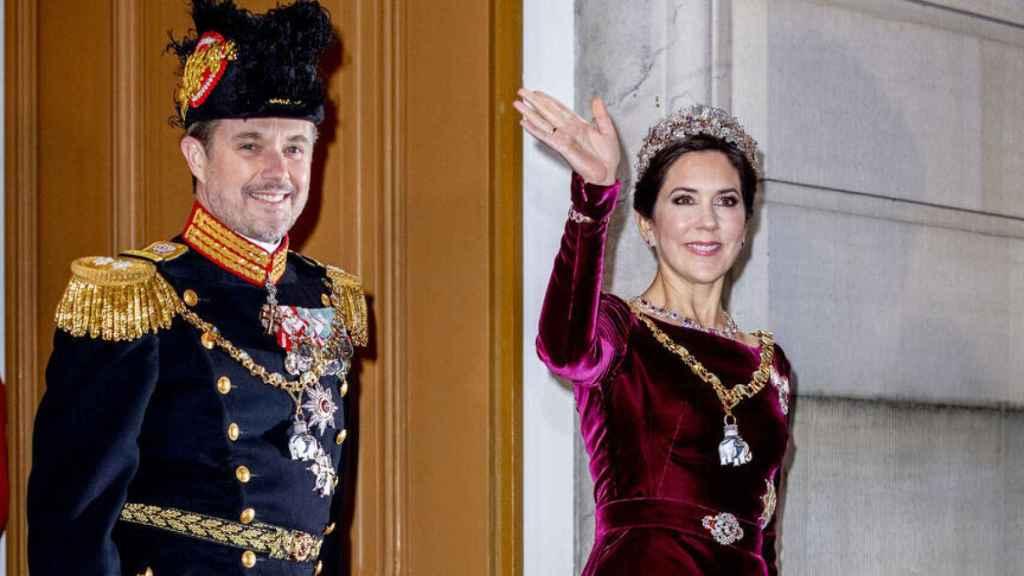 Federico y Mary de Dinamarca en una imagen de archivo.