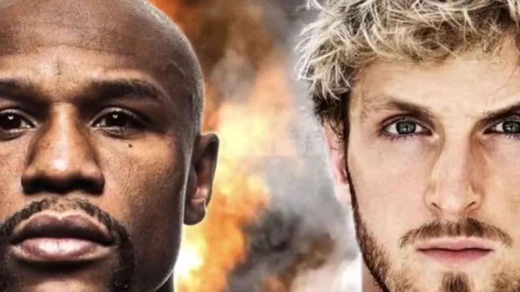 Cartel del Floyd Mayweather vs. Logan Paul