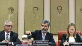El presidente del Poder Judicial, Carlos Lesmes, en una de sus comparecencias en el Congreso./
