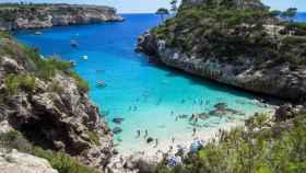 Una cala en Mallorca.