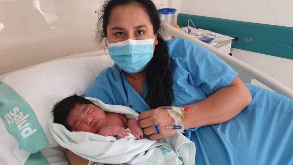 José, el primer bebé del 'estado de alarma'.