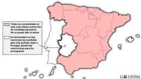 Extremadura es la única región peninsular sin restricciones por la Covid-19.