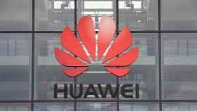 El logotipo de Huawei en una de sus sedes.