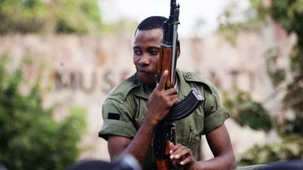 Un miliciano en el Sahel.