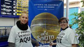 Dos empleadas en la Administración nº1 de San Vicente del Raspeig (Alicante) que en 2019 repartió 80 millones de El Gordo.