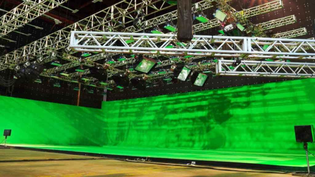 El escenario virtual donde se celebrará la Final Internacional de la Batalla de los Gallos