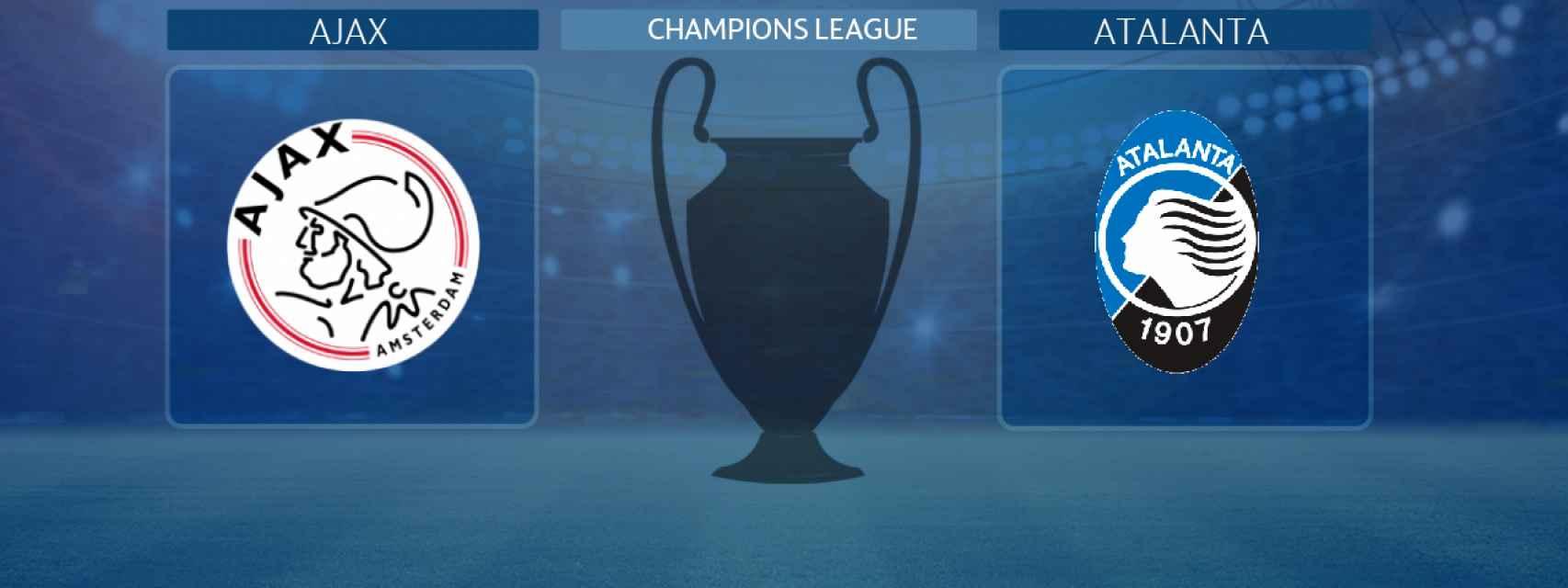 Ajax - Atalanta, partido de la Champions League