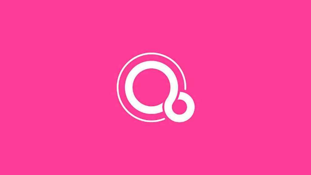 Logo de Fuchsia OS