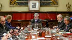 Imagen de archivo de una reunión del Pleno del CGPJ./