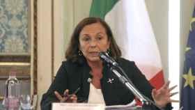 Luciana Lamorgese, ministra del Interior de Italia.