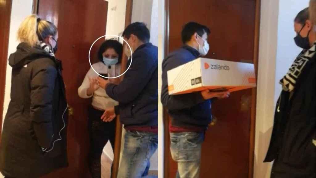 Yuri es okupa de una vivienda en Móstoles (Madrid) desde hace cuatro años.
