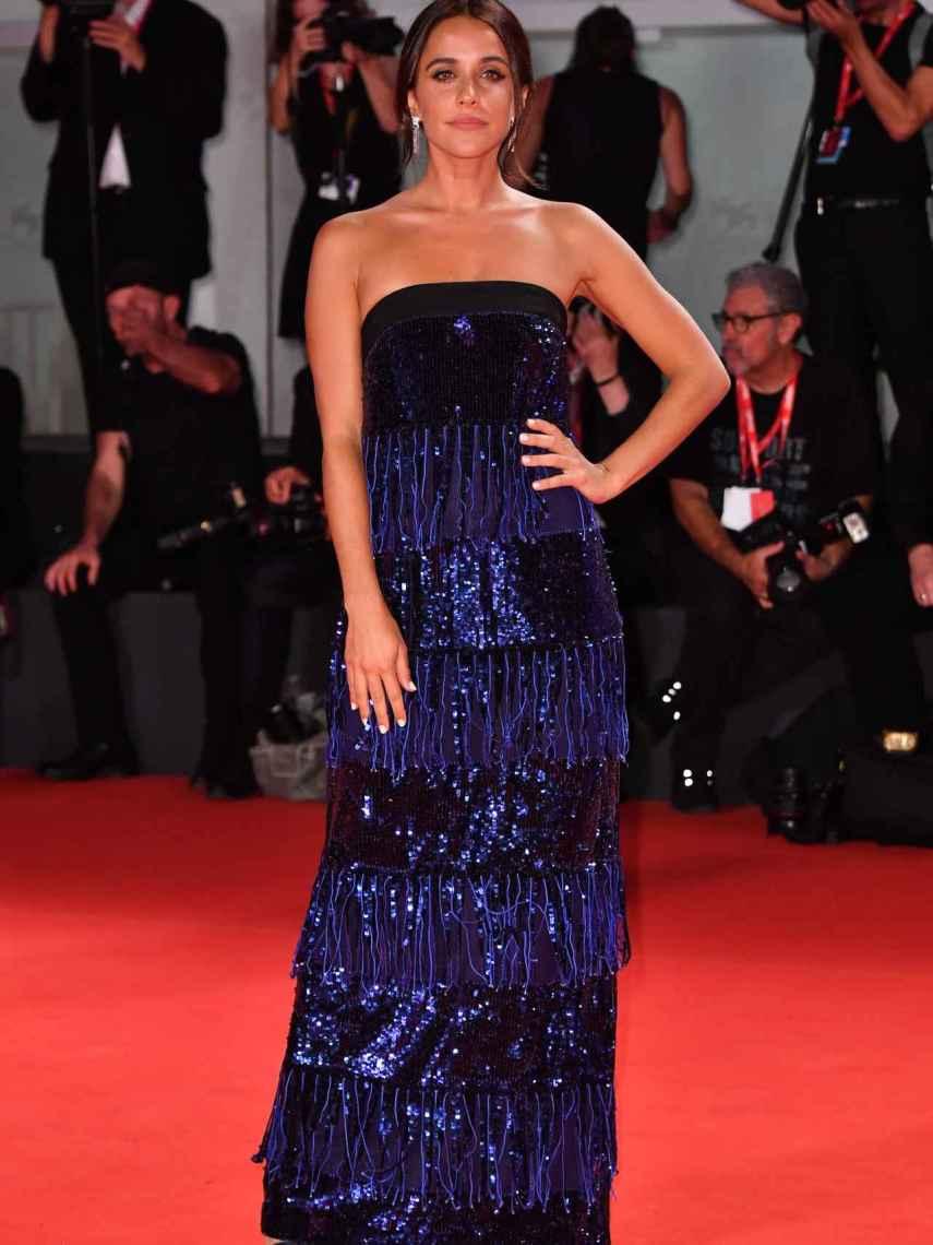 La actriz durante el Festival de Venecia.