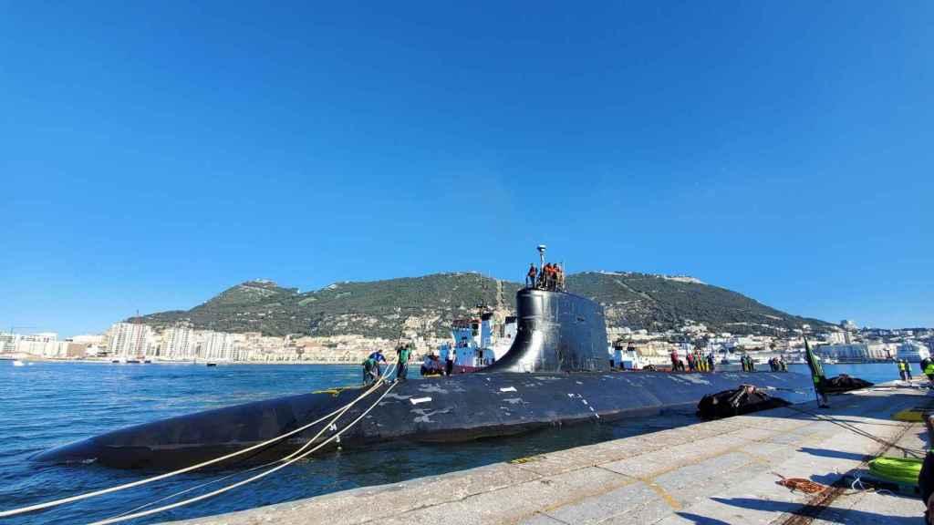 USS Seawolf atracado en Gibraltar