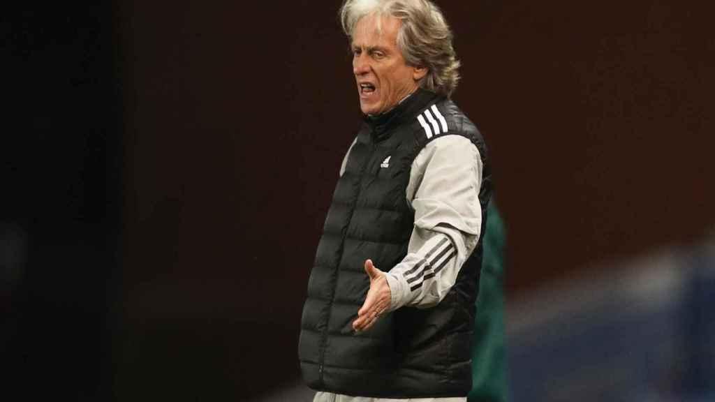 Jorge Jesús, entrenador del Benfica