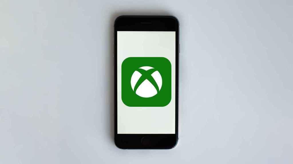 Logo de Xbox en un iPhone