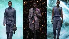 Dior renueva el armario masculino con estampados psicodélicos y accesorios femeninos.