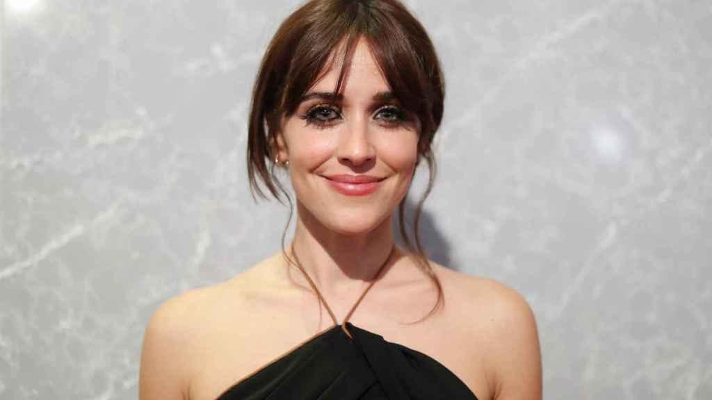 Macarena García durante los Premios Feroz.
