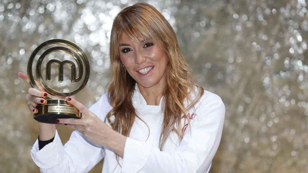 Raquel Meroño, ganadora de 'MasterChef Celebrity 5'.