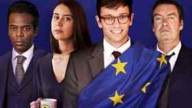 Los protagonistas de Parliament.