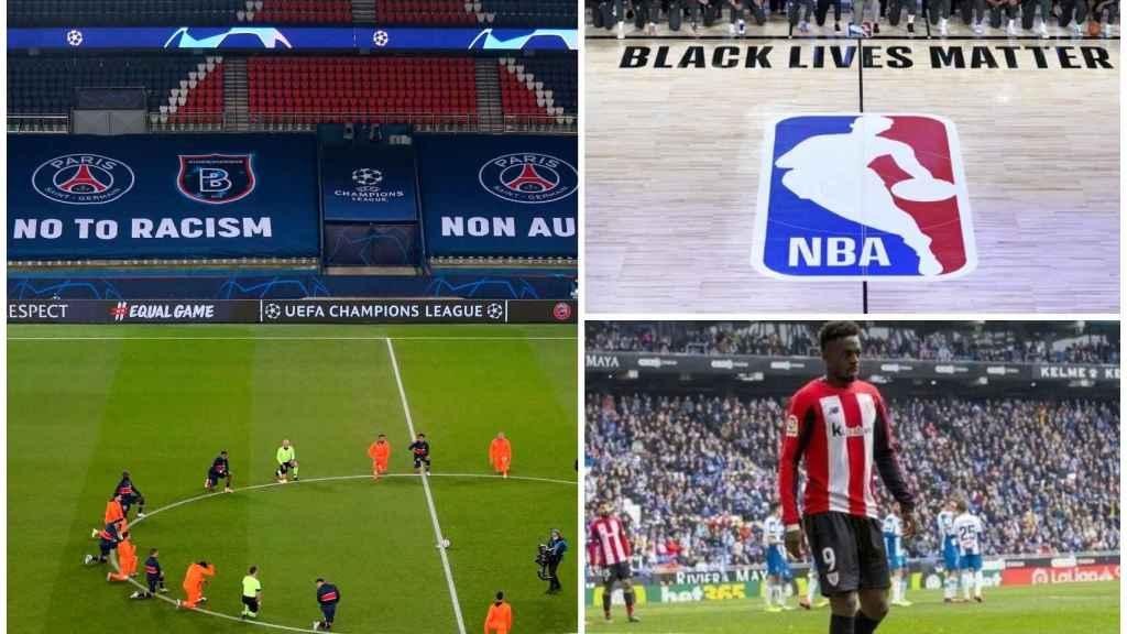 2020, el año en el que el deporte se propuso erradicar el racismo