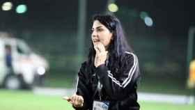 Maha Janoud, exfutbolista siria y entrenadora