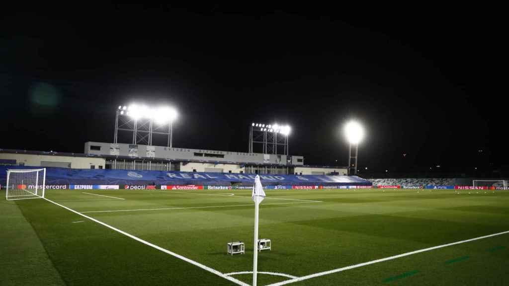 Estadio Alfredo Di Stéfano antes del Real Madrid - Borussia Mönchengladbach