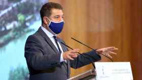 Emiliano García-Page, presidente de Castilla-La Mancha, este miércoles en Toledo