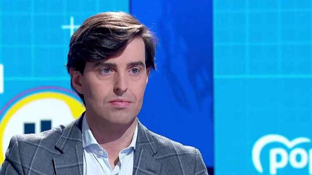 Pablo Montesinos, vicesecretario de Comunicación del PP, en TVE.