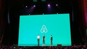Una de las numerosas presentaciones públicas de Airbnb