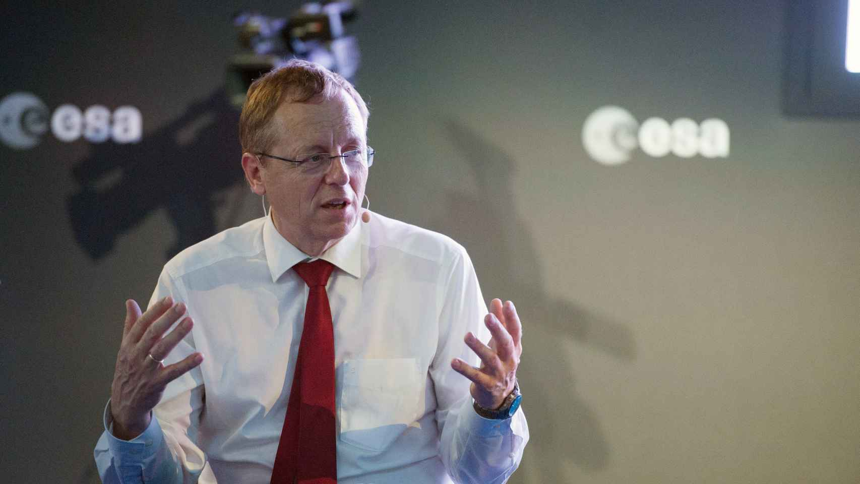 Jan Wörner, director general de la Agencia Europea del Espacio
