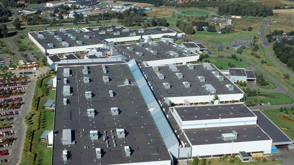 Imagen de la planta de Volvo Cars en Skövde, Suecia.