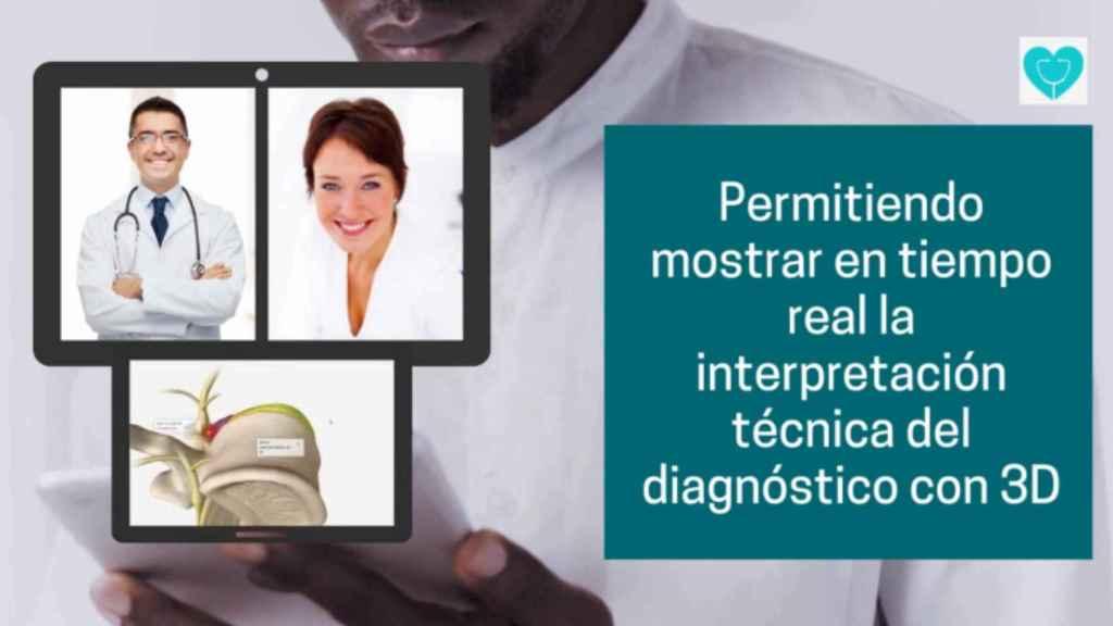 El especialista puede mostrar en tiempo real el cuerpo humano en 3D.
