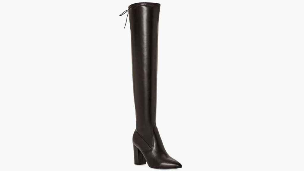 Alexandra Pereira se ha decantó por estas botas alta de estilo mosquetera.