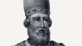 San Dámaso I papa.