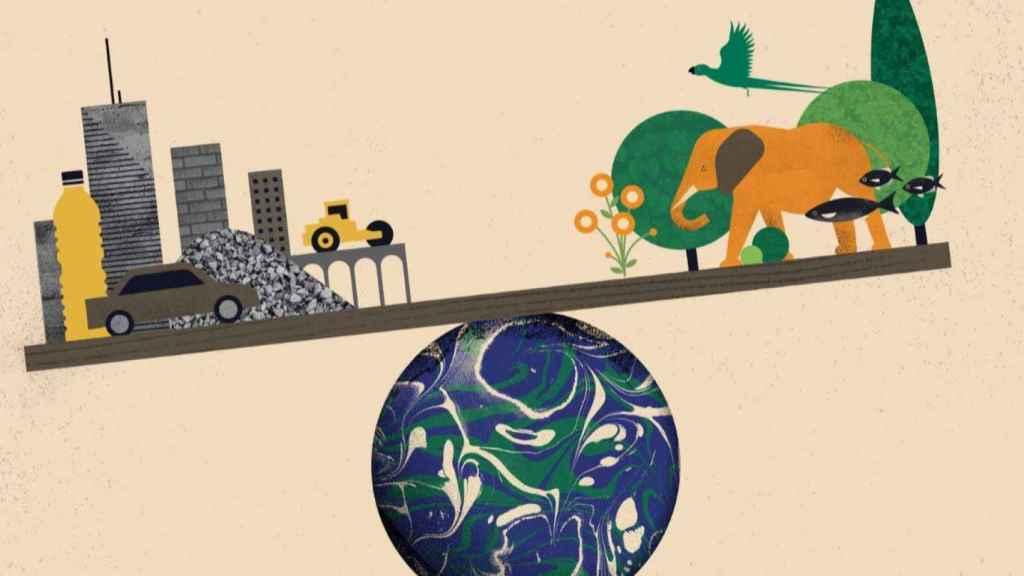 Este año la masa antropogénica superará a la natural. / Itai Raveh