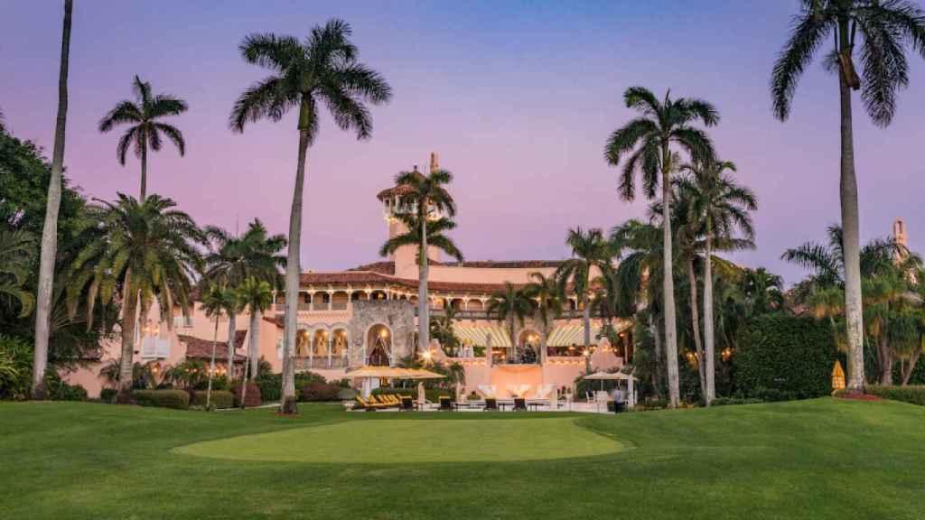 El complejo de Donald Trump, en Palm Beach, Florida.